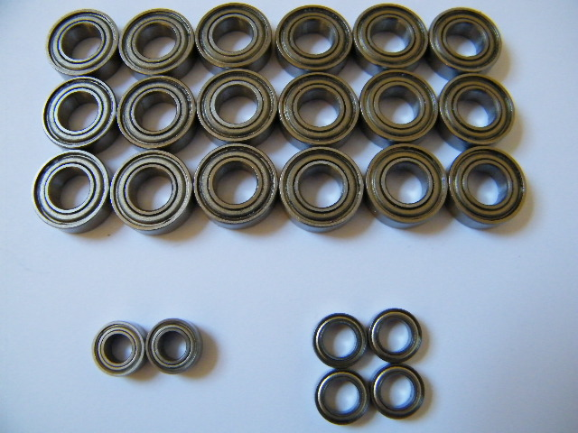 Boca Bearing Kit For Z-Car Buggy and Truggy (Without Z10 Steering)