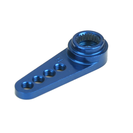 1/2 MACHINED ALUMINUM SERVO ARM BLUE (HITEC)