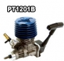 12 SIDE EXHAUST ENGINE WITH PULL STARTER / BLUE CASTING HEAD, AB