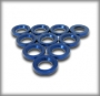 Steering ball-end gasket/blue