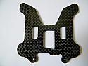 Z-10 Rear Shock Tower 4mm Carbon Fiber