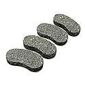 Brake Pads For Strong Brake System/4PCS
