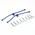 Body Klip Retainer, Blue (2)
