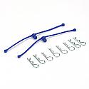 Body Klip Retainer, Blue (2)