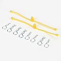 Body Klip Retainer, Yellow (2)