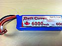 Swift Current Lipo 6000 2S Li-Po Pack - Soft Case
