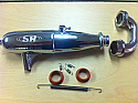 EFRA # 2060 1/8 COMPLETE TUNED EXHAUST SYSTEM