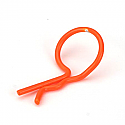 Bent Body Clip Orange (8)