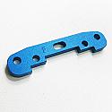 Front lower Sus. arm plate/blue/PRO