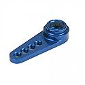 1/2 MACHINED ALUM SERVO ARM/FUTABA/ BLUE